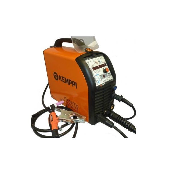 Kemppi MasterTig MLS 2300 ACX AC/DC Ready to Weld Tig Welder Package.230V CE
