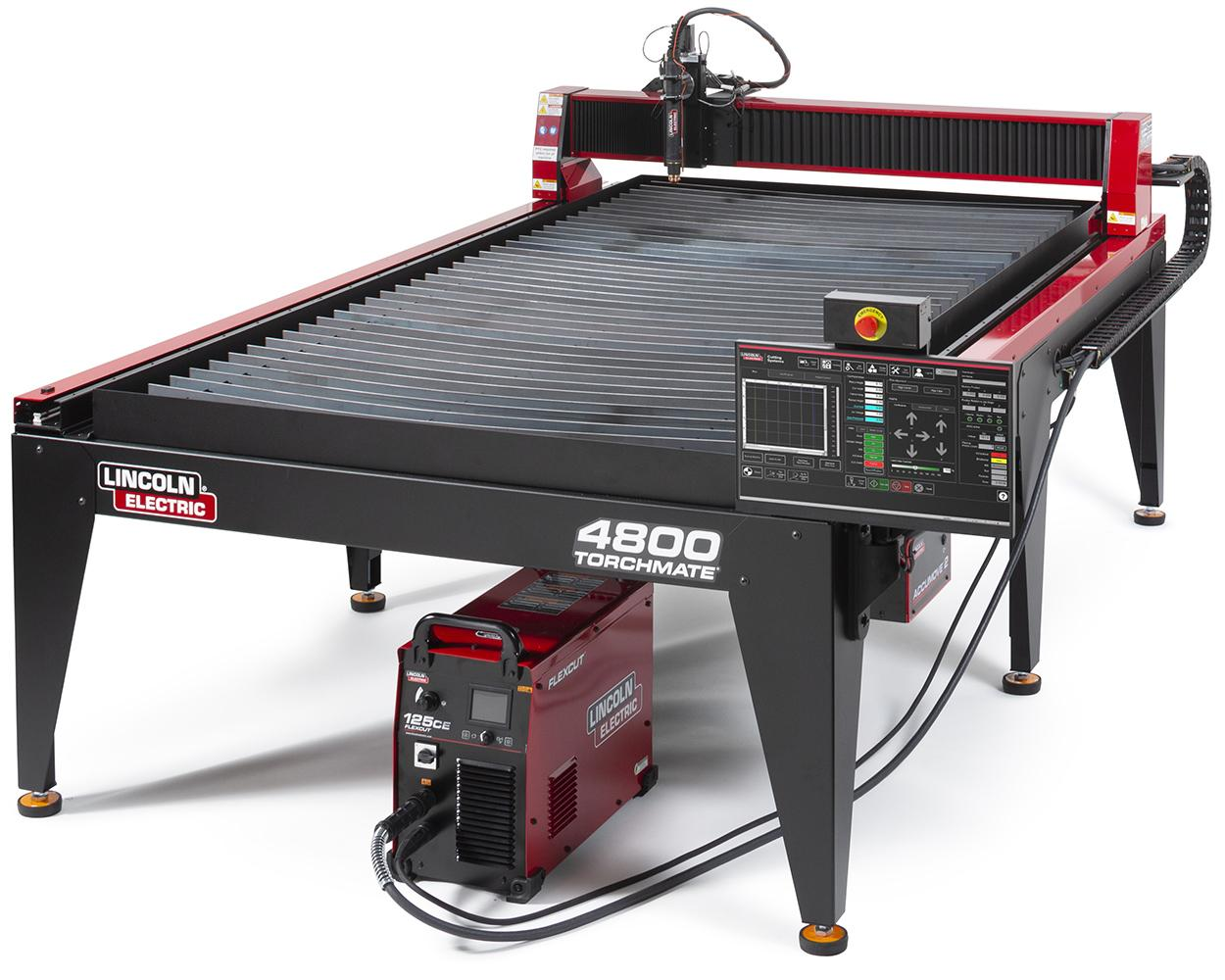 Lincoln Torchmate 4800 4ft X 8ft Cnc Plasma Cutting Table